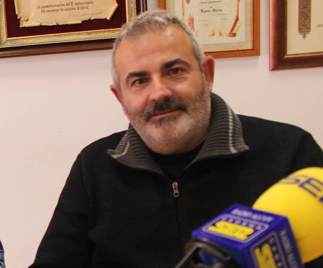 David Lerma, intendente principal de la Policía Local de Alcoy.